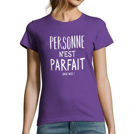 """T-shirt femme """"Personne..."""