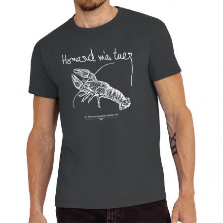 "Tee-shirt homme ""Homard m'a..."