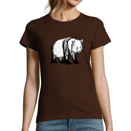 "T-shirt femme ""Panda Trees"""
