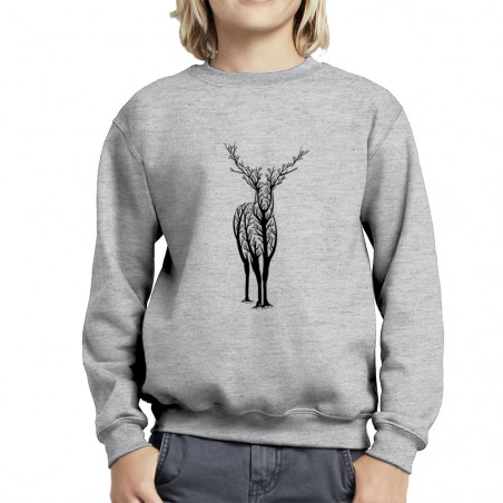 "Sweat enfant col rond ""Deer..."
