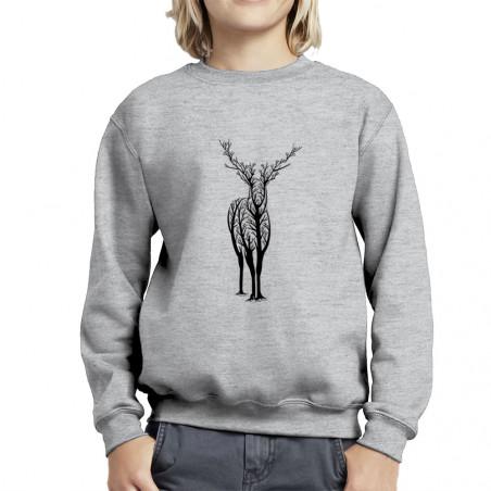 """Sweat enfant col rond """"Deer..."""