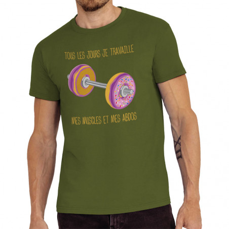 "Tee-shirt homme ""Donuts..."