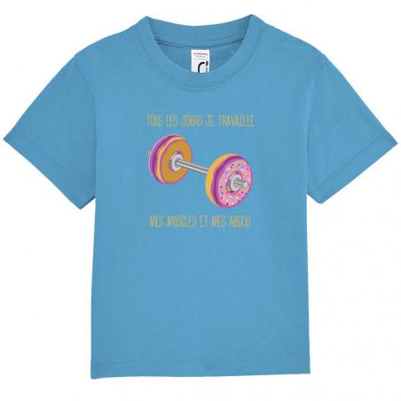 """Tee-shirt bébé """"Donuts..."""