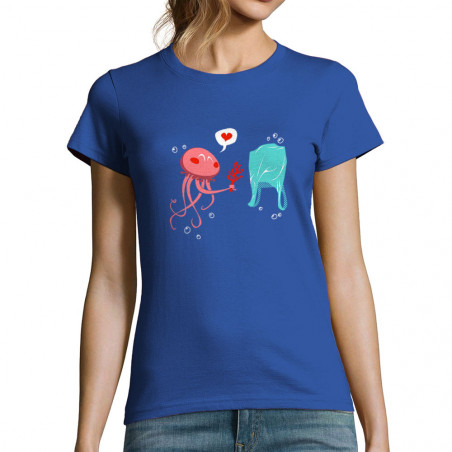 "T-shirt femme ""Méduse"""