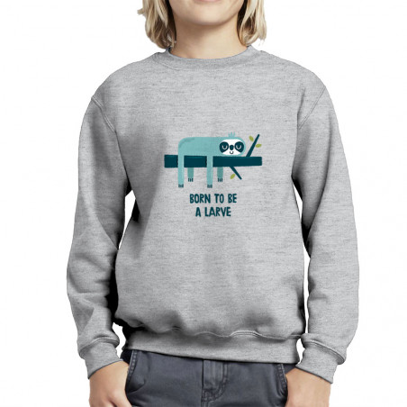 "Sweat enfant col rond ""Born..."