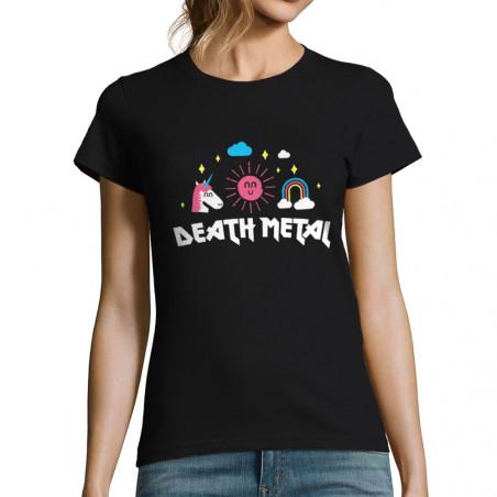 """T-shirt femme """"Death Metal"""""""