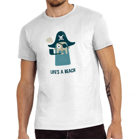 "Tee-shirt homme ""Life's a..."