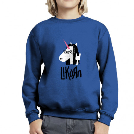 "Sweat enfant col rond ""Likorn"""