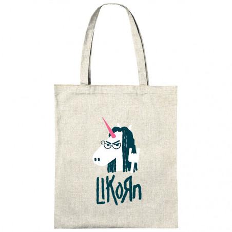 "Sac shopping en toile ""Likorn"""