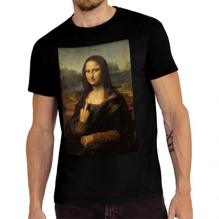 "Tee-shirt homme ""Mona Lisa..."
