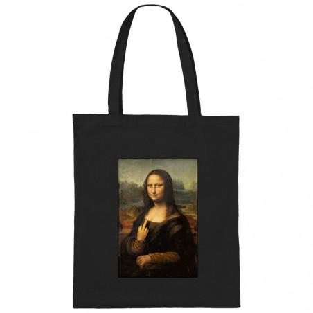 "Sac shopping en toile ""Mona..."