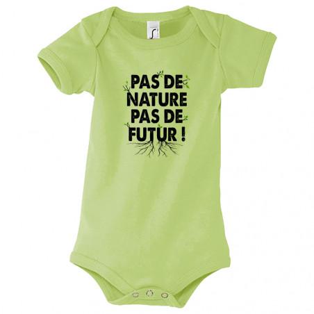 "Body bébé ""Pas de nature..."