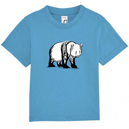 """Tee-shirt bébé """"Panda Trees"""""""