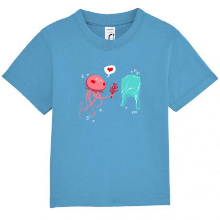 """Tee-shirt bébé """"Méduse"""""""