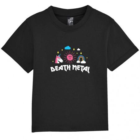 """Tee-shirt bébé """"Death Metal"""""""
