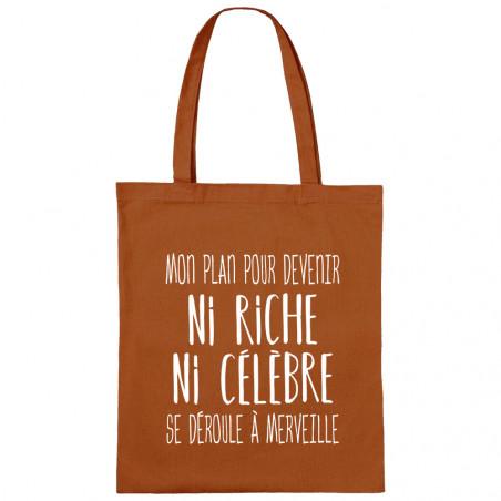"Sac shopping en toile ""Mon..."