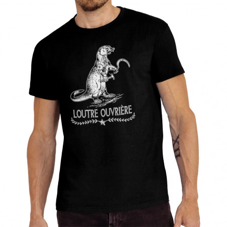 "Tee-shirt homme ""Loutre..."