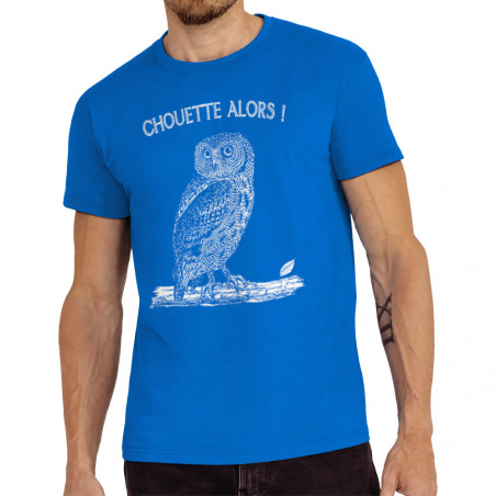 """Tee-shirt homme """"Chouette..."""