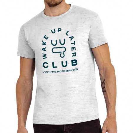 "Tee-shirt homme ""Later Club"""