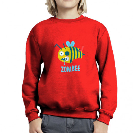 "Sweat enfant col rond ""Zombee"""