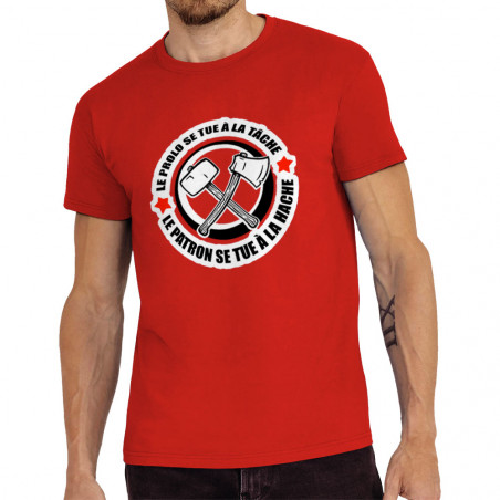 """Tee-shirt homme """"Le prolo..."""