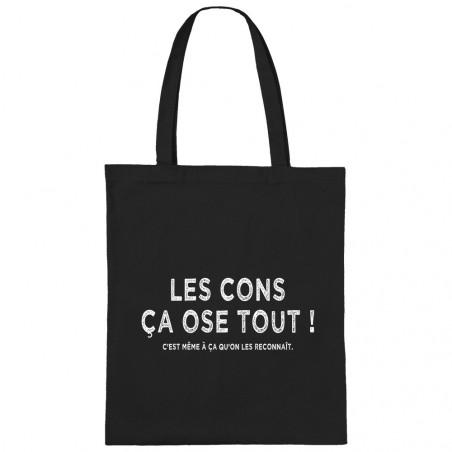 "Sac shopping en toile ""Les..."