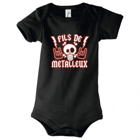 """Body bébé """"Fils de Metalleux"""""""