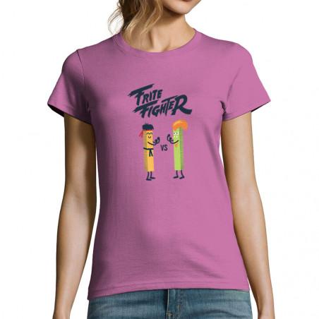 "T-shirt femme ""Frite Fighter"""