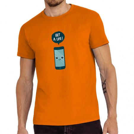 """Tee-shirt homme """"Get a Life"""""""