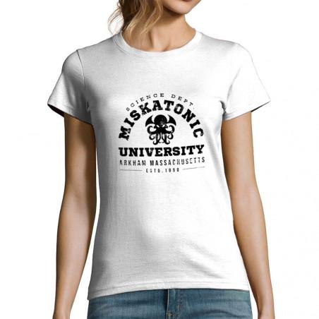 "T-shirt femme ""Miskatonic..."