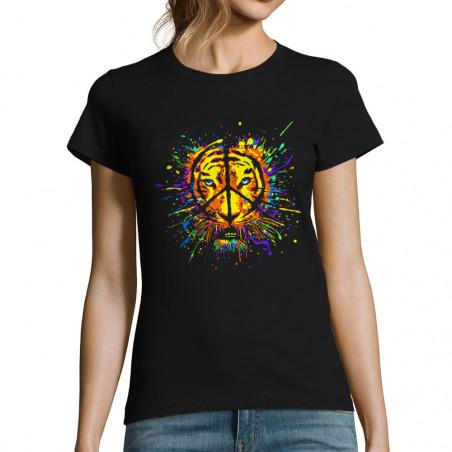 "T-shirt femme ""Peace Tiger"""