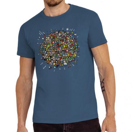 """Tee-shirt homme """"Planet Pop..."""