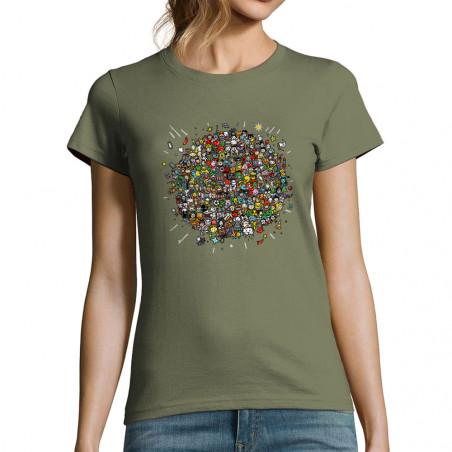 """T-shirt femme """"Planet Pop..."""
