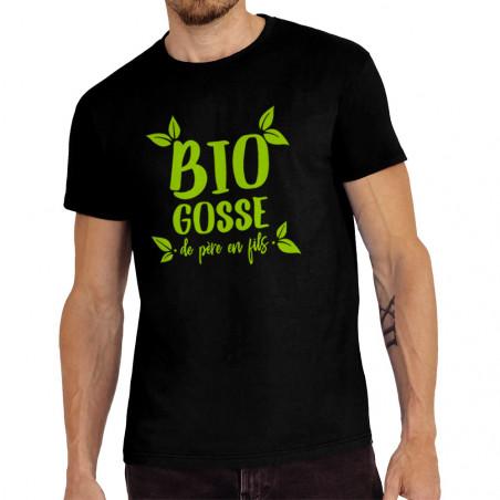 "Tee-shirt homme ""Bio gosse..."