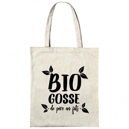 "Sac shopping en toile ""Bio..."