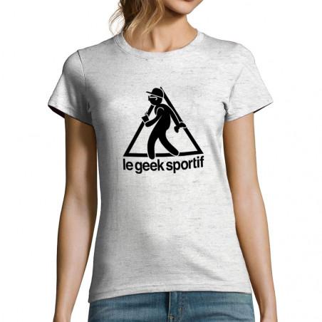 """T-shirt femme """"Geek Sportif"""""""