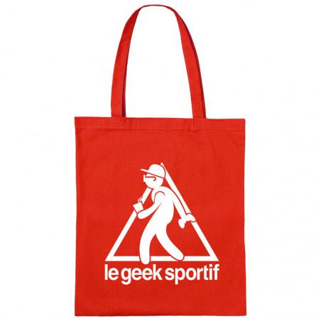 "Sac shopping en toile ""Geek..."