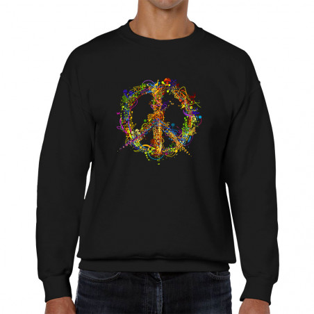 "Sweat homme col rond ""Peace..."