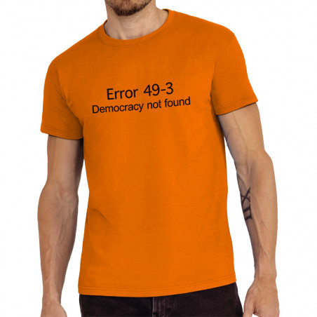 "Tee-shirt homme ""Error 49-3"""