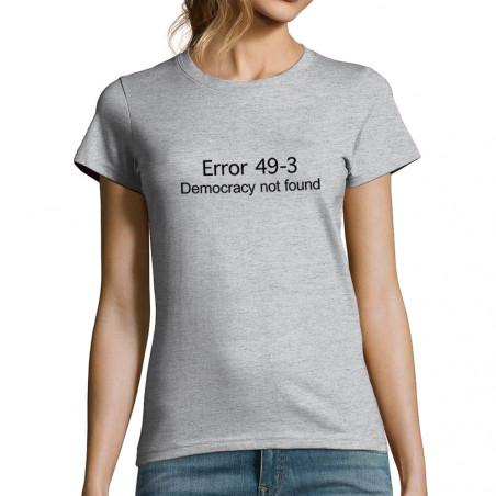 """T-shirt femme """"Error 49-3"""""""