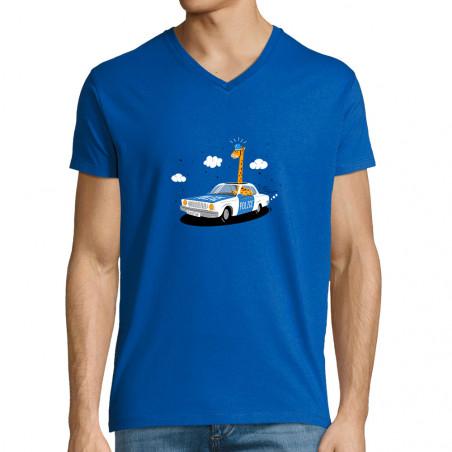 """T-shirt homme col V """"Girofar"""""""