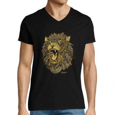 """T-shirt homme col V """"Bad..."""