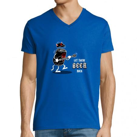 """T-shirt homme col V """"Let..."""