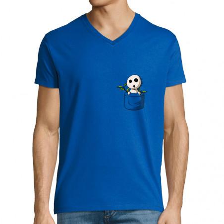 "T-shirt homme col V ""Save..."