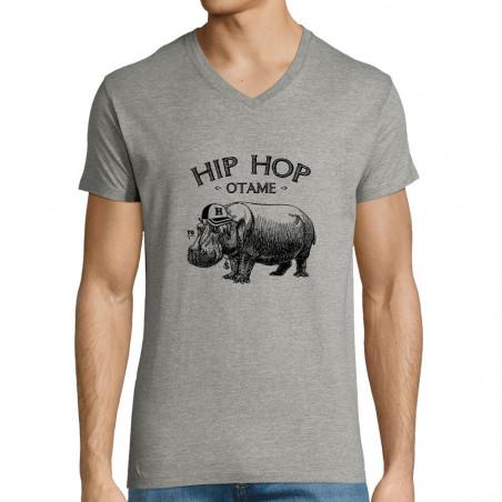 """T-shirt homme col V """"Hip..."""