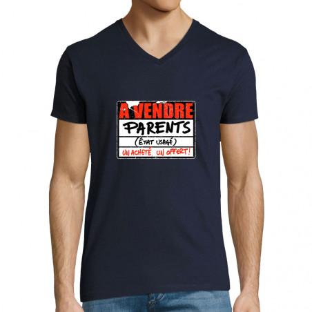 "T-shirt homme col V ""A..."