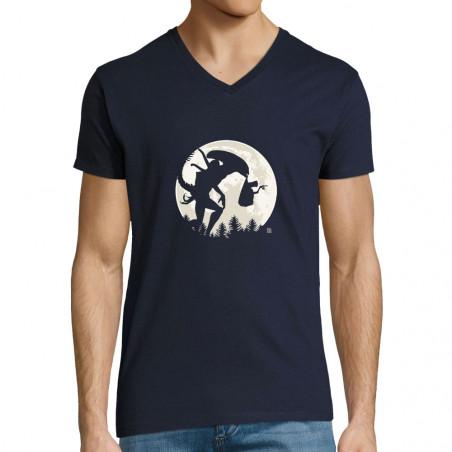 """T-shirt homme col V """"ET's..."""