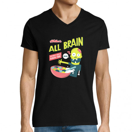 "T-shirt homme col V ""All..."