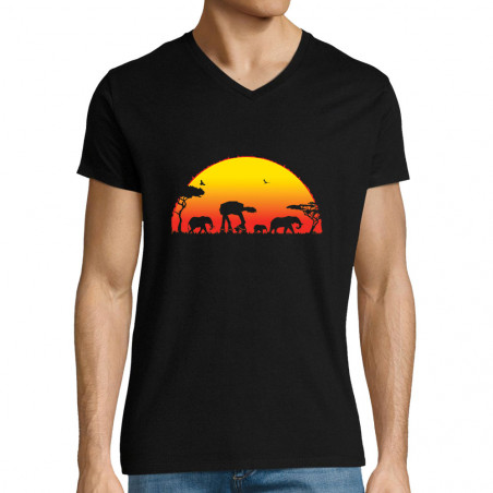 """T-shirt homme col V """"Starfari"""""""
