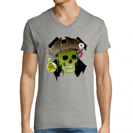 """T-shirt homme col V """"Acid..."""